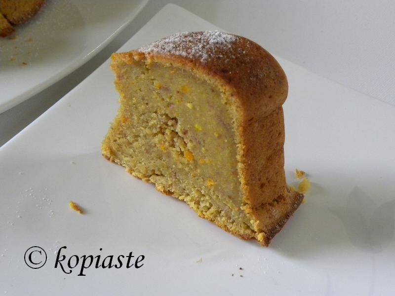 Orange & Strawberry Cake Piece of Cake