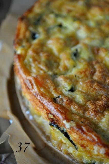 Savory Zucchini & Carrot Cake, by Simona