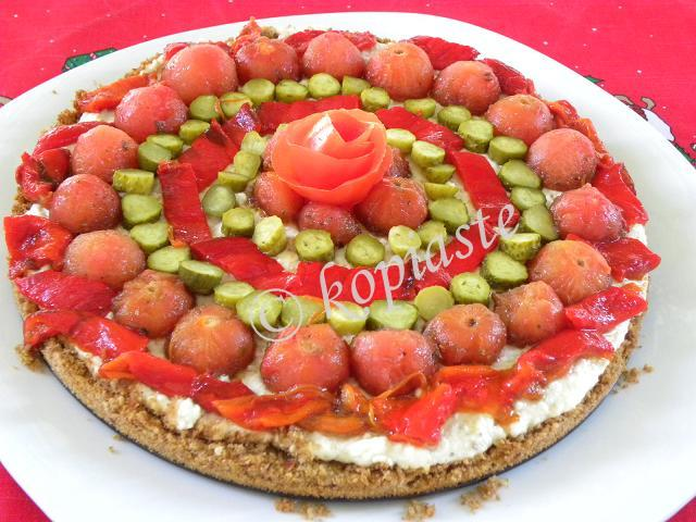 Dakos Greek Cheesecake marked