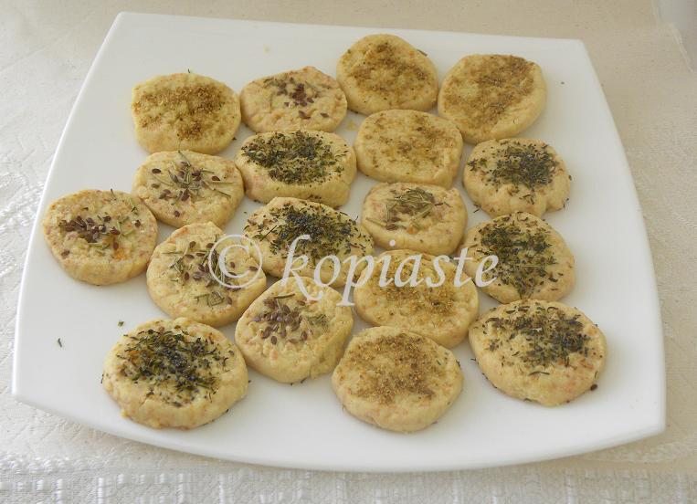 Savory cookies Marked
