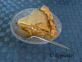 kolokythopita Greek sweet pumpkin pie