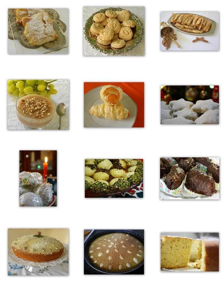 collage desserts