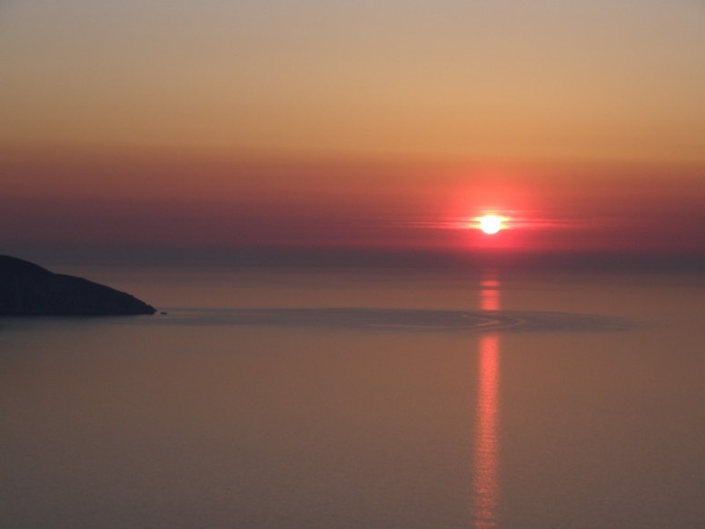 Sunset in Kefalonia
