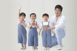 Song Il Guk and Triplets