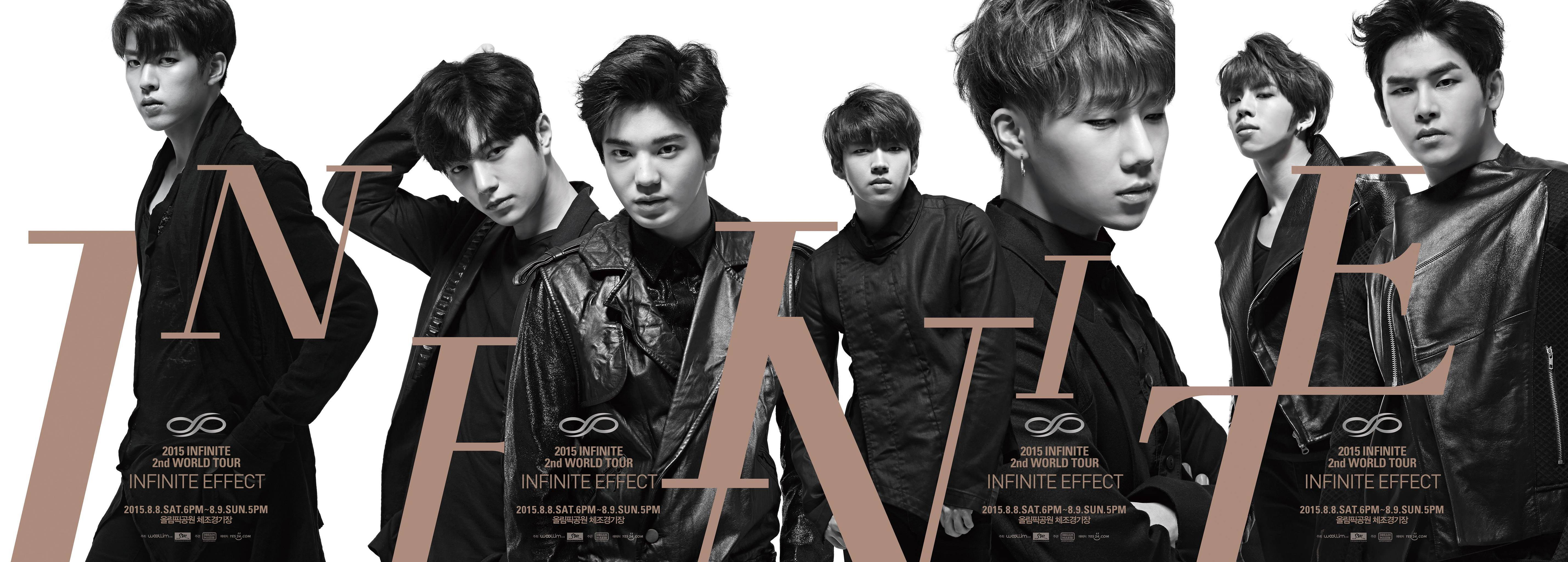 Infinite Second World Tour Songs