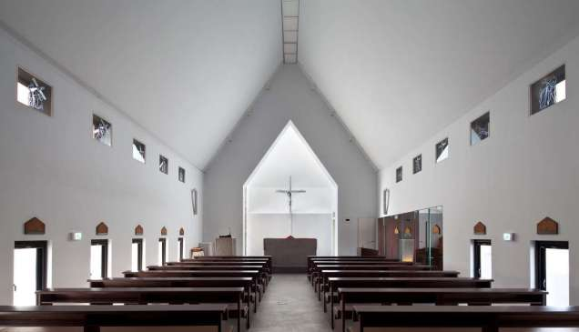 Inbo Catholic Church by Archigroup MA, Ulsan, South Korea