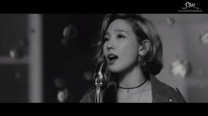"Image: SM Entertainment / Taeyeon's ""Rain"" MV"