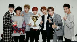 "Image: Block B ""Toy"" win on Show Champion / Seven Seasons"