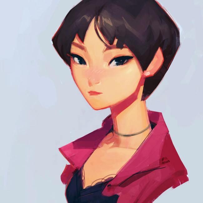 TWICE Jungyeon / Drawing by Samuelyounart@Tumblr
