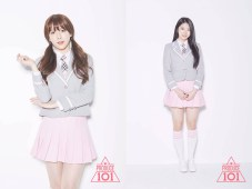 Image: 'Produce 101' Lee Hae In and Lee Su Hyun (SS Entertainment)