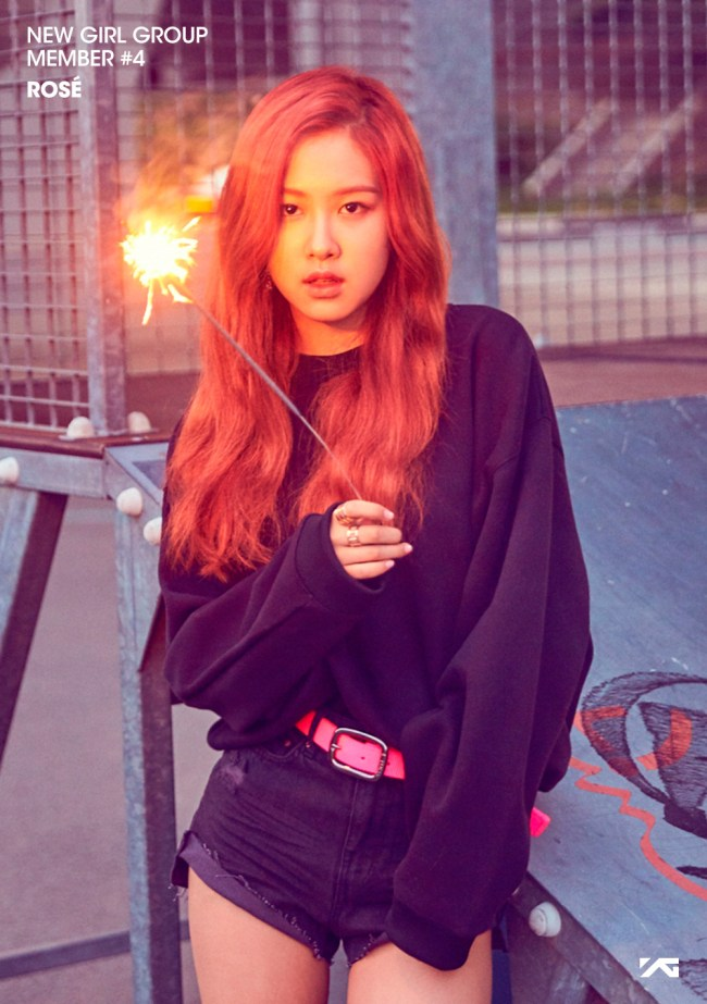 Image: Fourth member of YG Entertainment's new girl group, Rosé