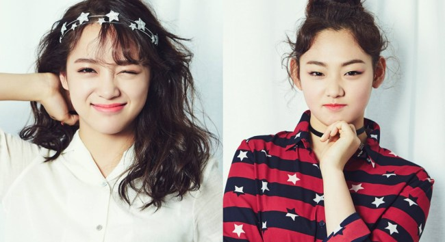Image: I.O.I Kim Sejeong and Kang Mina / YMC Entertainment