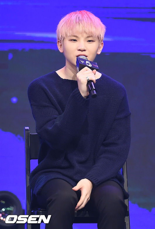Image: SVENTEEN's Woozi / Photo by OSEN