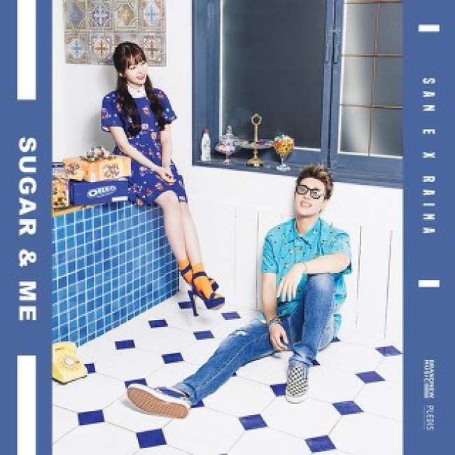 San E x Raina's Sugar Me single