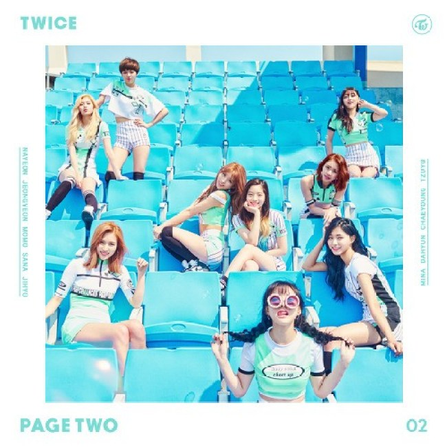 TWICE's Page Two EP / JYP Entertainment