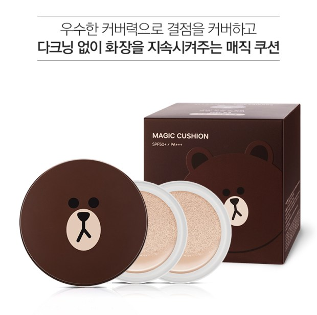 Missha x Line Friends Magic Cushion