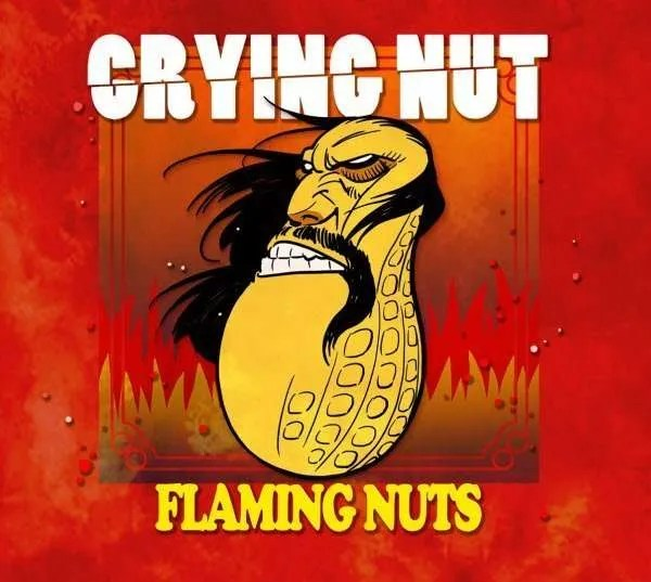 crying nut flaming nuts