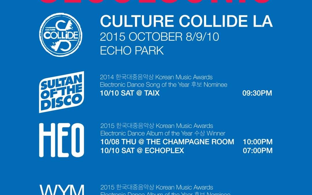 Seoulsonic 2K15 Hits Los Angeles Oct 8-10 & New York Oct 15