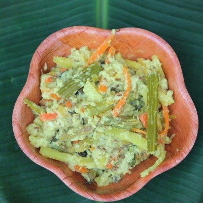 Aviyal – Avial Recipe – Kerala Sadya Recipes | Mixed Vegetables in Thick Coconut Paste