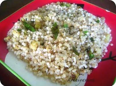 Sabudana Khichdi /Spiced Tapioca Sago