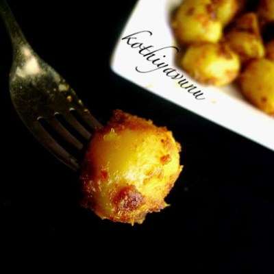 Baby Potato Roast Recipe – Urulakkizhangu Roast Recipe