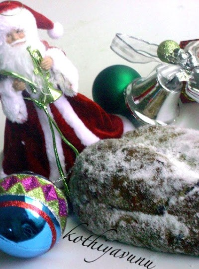 Christmas Stollen – German Christmas Fruit Bread-Cake