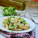 Shrimp Broccoli Creamy Penne Pasta Recipe