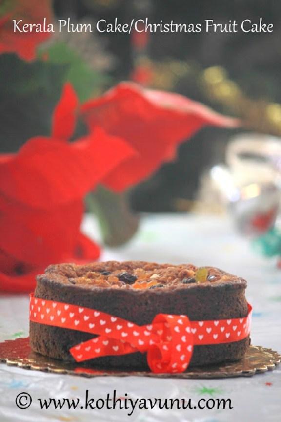 christmas fruit cake |Kothiyavunu.com