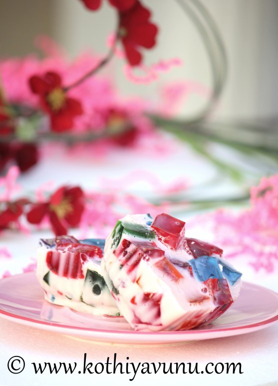 Broken Glass Jello |kothiyavunu.com