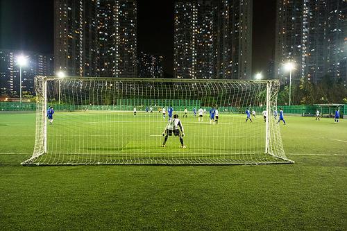 football pitch photo
