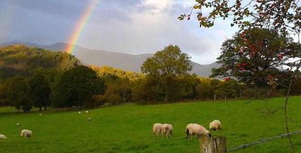 Skiddaw rainbow