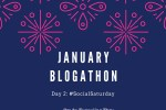january blogathon social saturday lady admiration