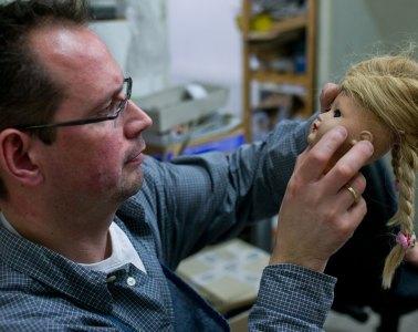 Christian Schneider, Puppe