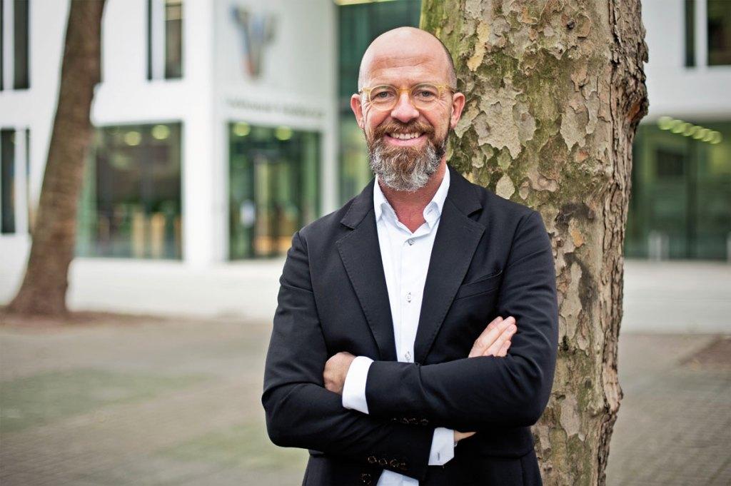 Leiter des Stadtmarketings Uli Cloos - KREFELDER WEIHNACHTSMARKT - DAS NEUE MADE IN KREFELD-SPECIAL