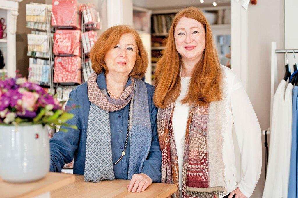 HOUSE&GARDEN Mutter-Tochter-Gespann Lisa Guddorp und Lena Neuwirth