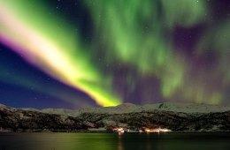 Nordlichter, Himmel