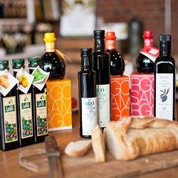 Öle, Flaschen, Brot