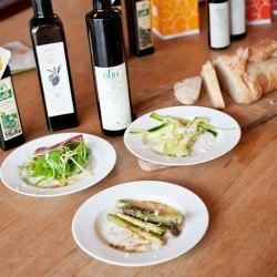 Brot, Öl, Tisch