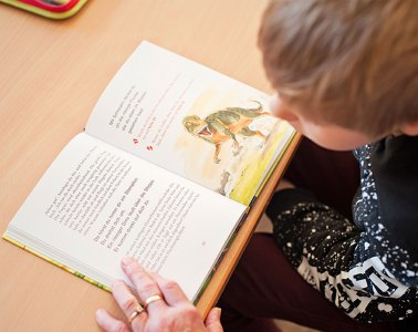 Marcel, Buch, Dinosaurier