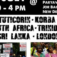 Delhi, London -  GLOBAL RESISTANCE against Vedanta Resources