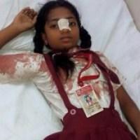 Mumbai - Sewri slum demolished after night's notice,  children injured in police lathi charge