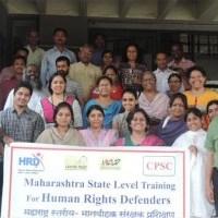 Maharashtra Activists  defend their rights