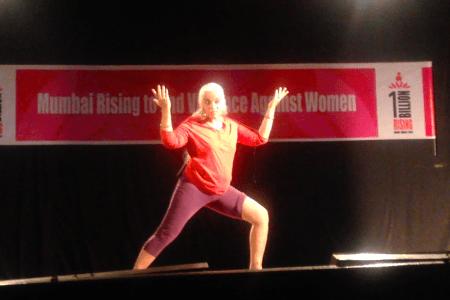 Mumbai – #1BillionRising – Maya...