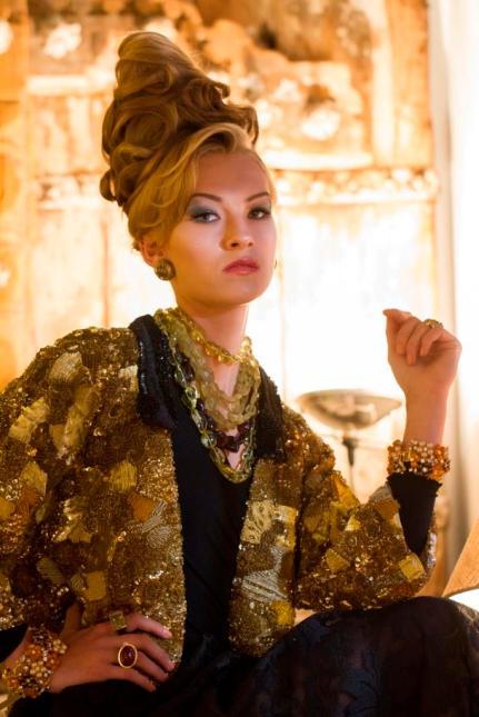 свадебная прическа Аликанте