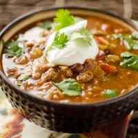 Healthy Crock Pot Taco Soup