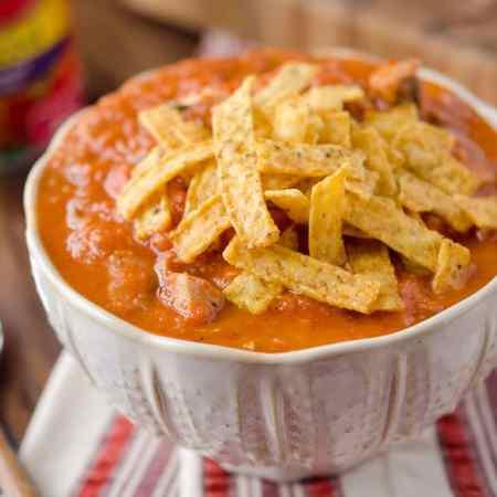 Creamy Chipotle, Chicken & Tomato Soup - Krafted Koch