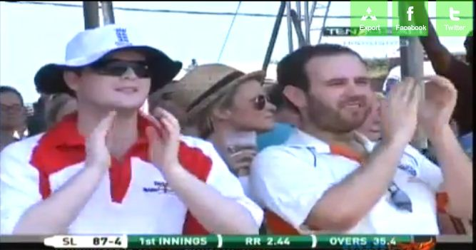 Where's Richie? Bearded Peralta spotted talent scouting in Sri Lanka