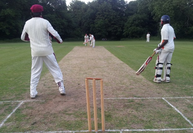 Shamefull ... King's Road bowled out for 41 in Barnes