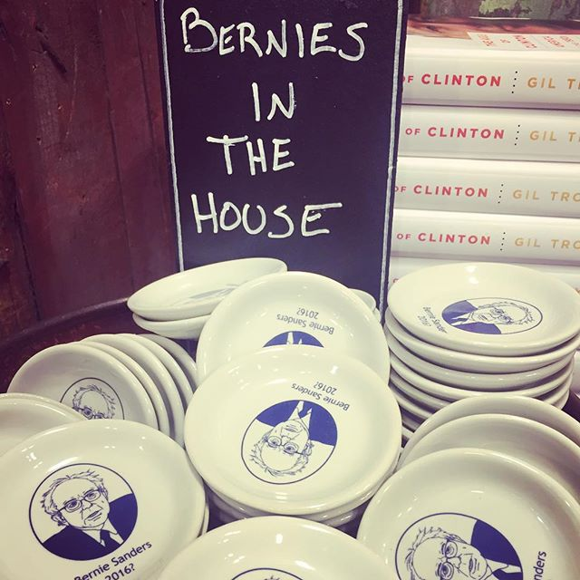 Pretty clear where they politically stand #fisheddy #berniesanders #hilaryclinton
