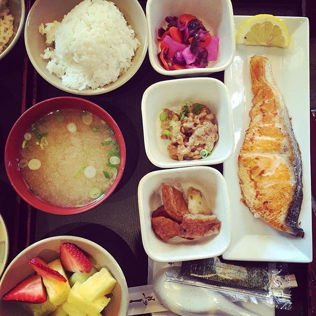 The early bird gets the Japanese breakfast  #japanesefood